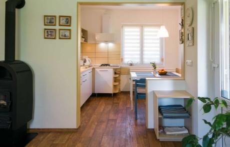 Balatoni családbarát apartmanok Keszthely - Toldi68 Apartmanház B apartman nappali-étkező-konyha.