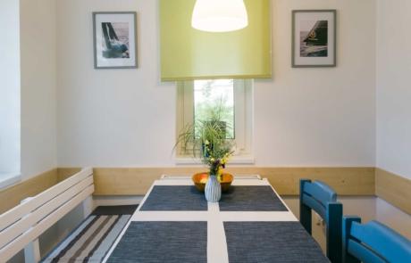 Balatoni családbarát apartmanok Keszthely - Toldi68 Apartmanház B apartman étkező.