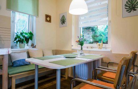 Balatoni családbarát apartmanok Keszthely - Toldi68 apartmanház - étkező - A apartman.