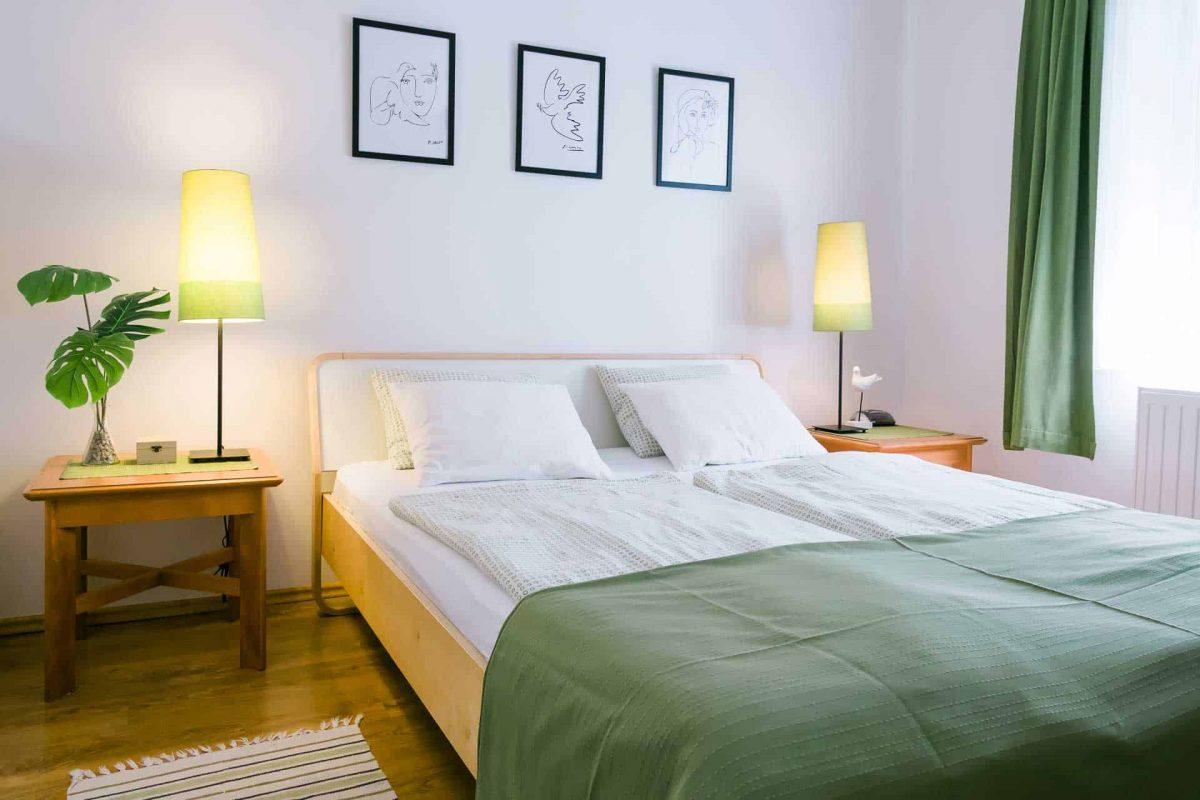 Toldi 68 Apartmanház Keszthely - hálószoba