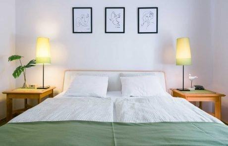 Balatoni családbarát apartmanok Keszthely - Toldi68 apartmanház - hálószoba - A apartman.