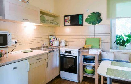 Balatoni családbarát apartmanok Keszthely - toldi68 apartmanház - konyha - A apartman.