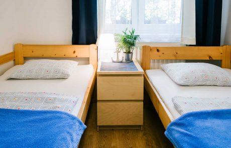 Keszthely - toldi68 apartmanház hálószoba - B apartman.