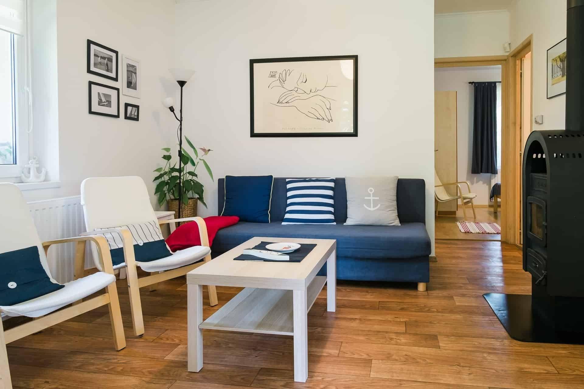 Családbarát apartmanok a Balaton északi partján.Toldi68 apartmanház - Keszthely - nappali szoba.