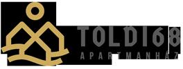 Családbarát Balatoni Apartmanház - Szálláshely Keszthely - Kiadó apartmanok Toldi68 - retina mobil logo.